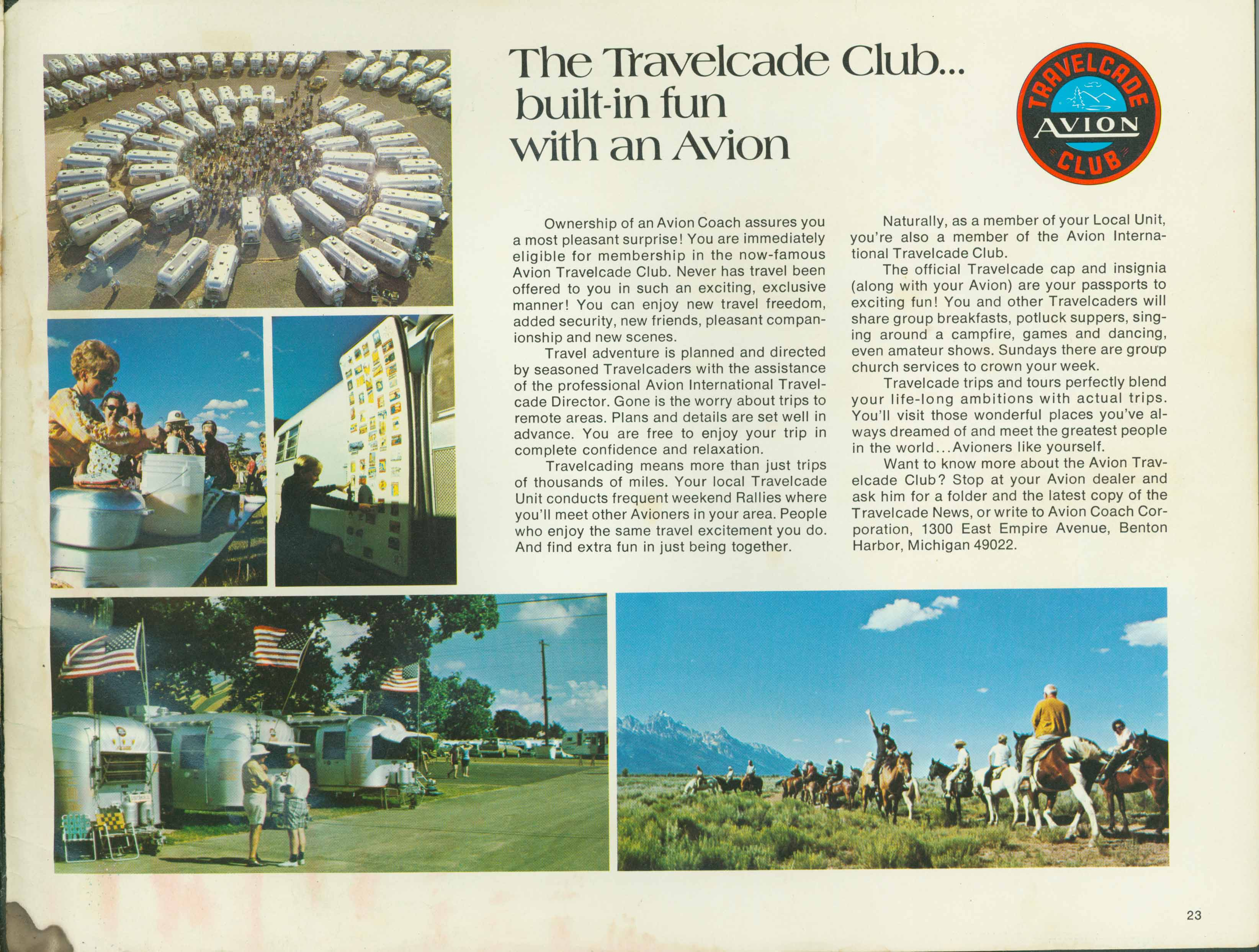 1972_AVION_23 avion travelcade club travel former member fifth wheel fleetwood Ford Motorhome Wiring Diagram at crackthecode.co